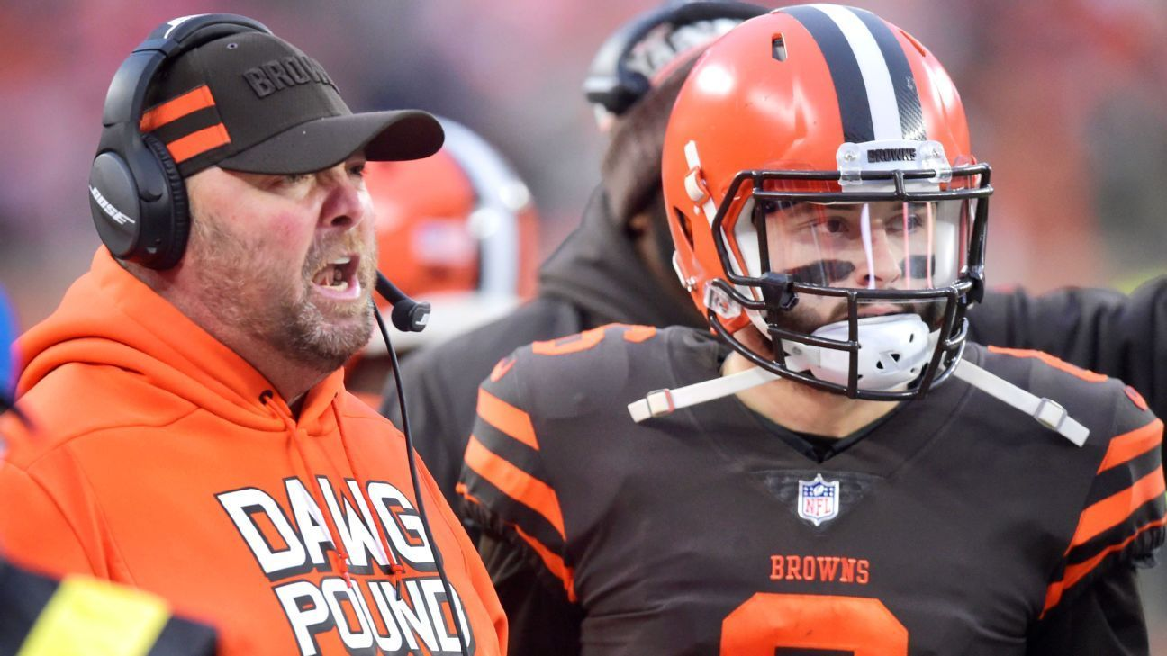 Freddie Kitchens will be named Cleveland Browns fulltime