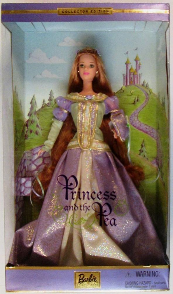 Princess and the Pea Barbie Doll (Collectors Edition) (New)