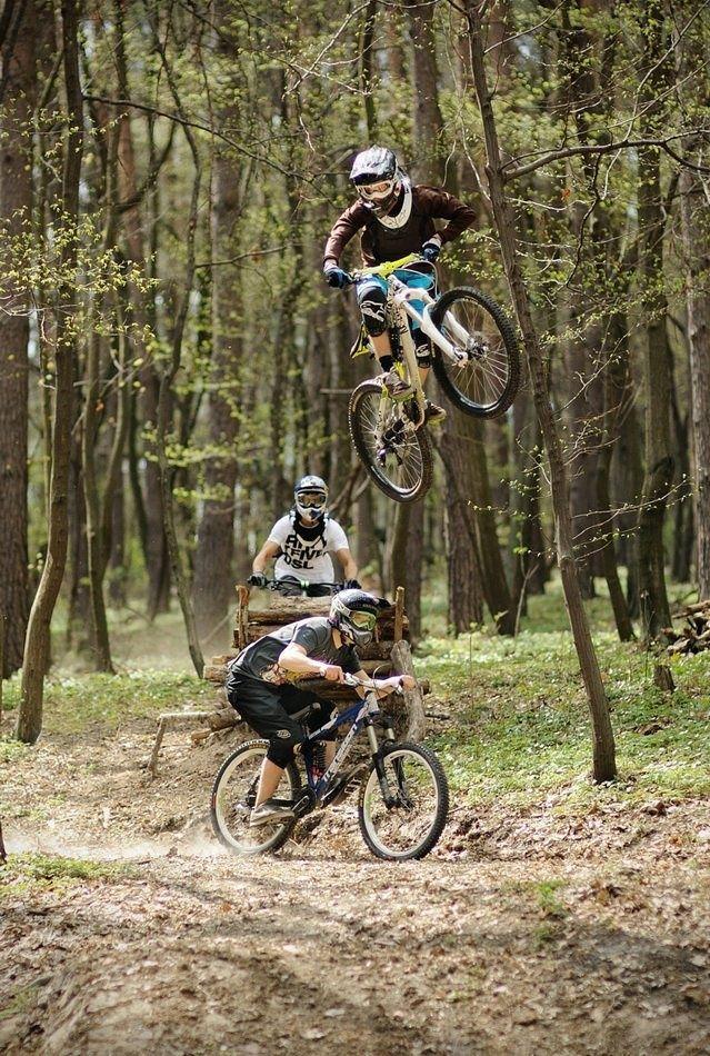 3 Jump Mountainbike Fietsen Fiets