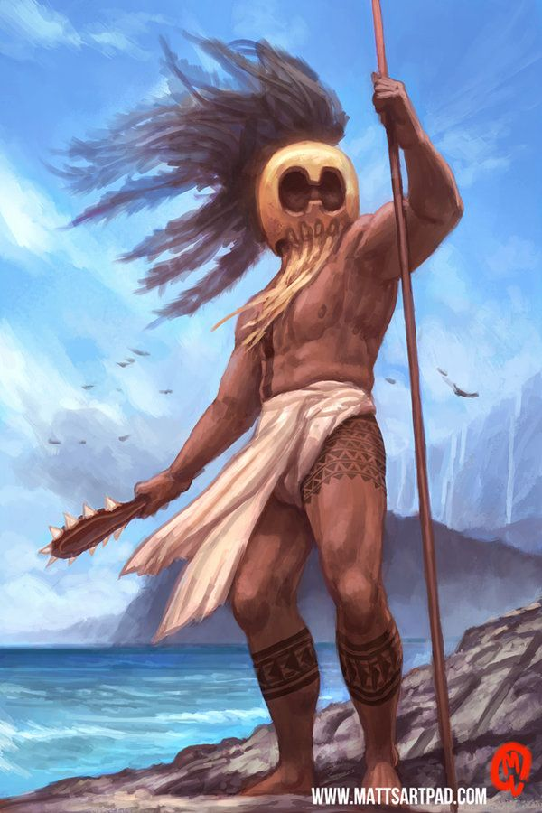 Hawaiian Warrior Drawing : hawaiian, warrior, drawing, Character, Study, Hawaiian, Warrior, Changinghand, DeviantART, Tattoo,, Tattoo, Traditional,, History