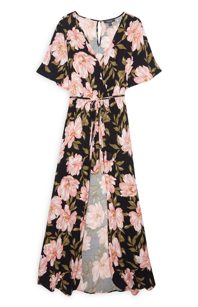 Primark - Black Floral Long Playsuit  Primark fashion, Primark