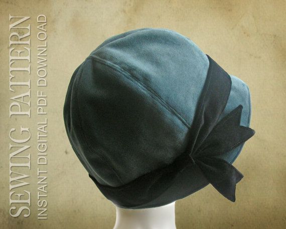SEWING PATTERN - Penny, 1920s Twenties Cloche Hat for Child or Adult ...
