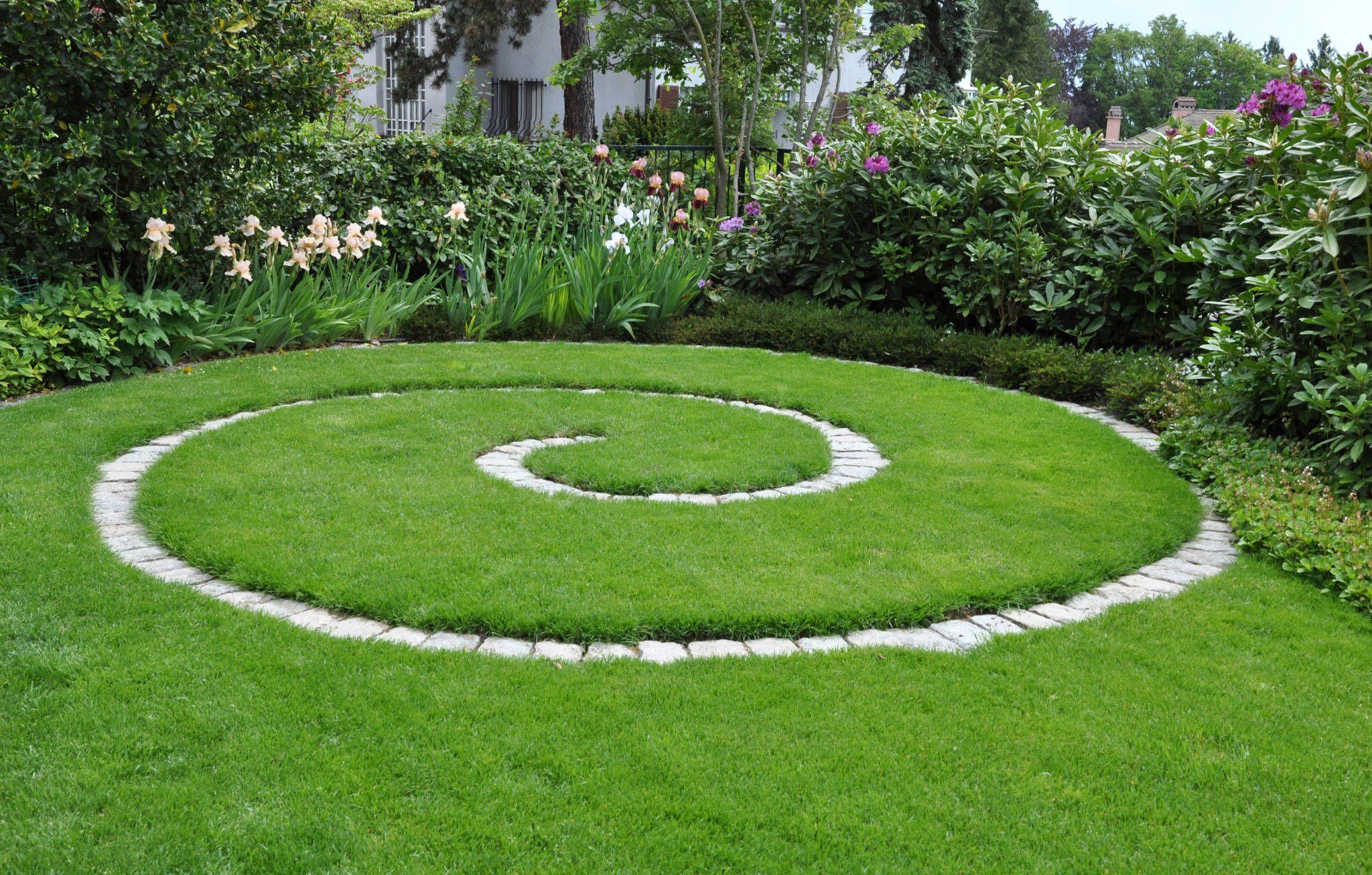 Progetto giardino residenziale giardino in stile di for Garden designer milano