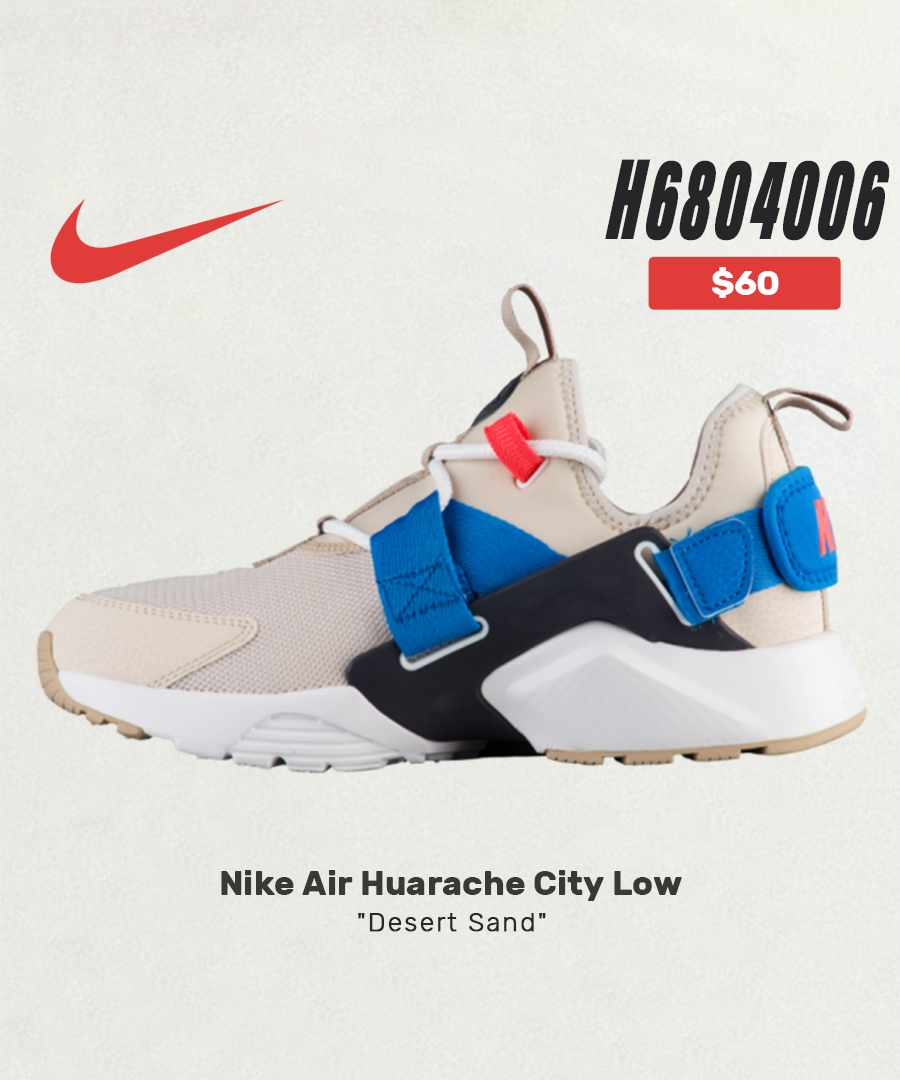 $60 Nike Air Huarache City Low Women Sneaker Outfits|Sneaker