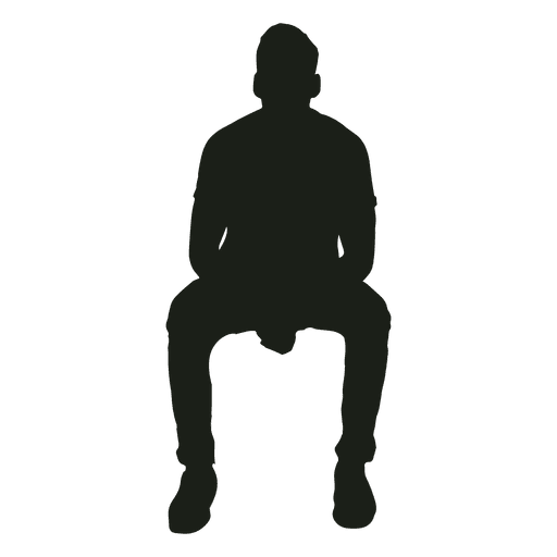 Man Sitting On Office Chair Silhouette Ad Paid Paid Sitting Silhouette Chair Man Man Sitting Silhouette Male Body Art
