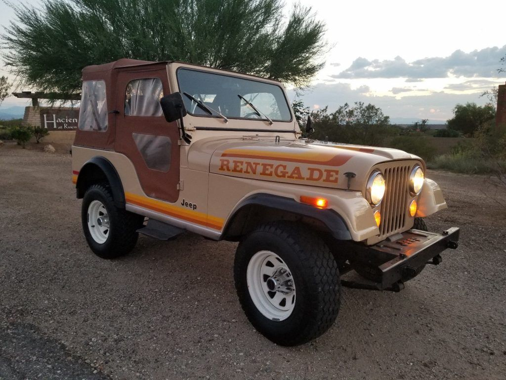 1981 jeep cj5 renegade [ 1024 x 768 Pixel ]