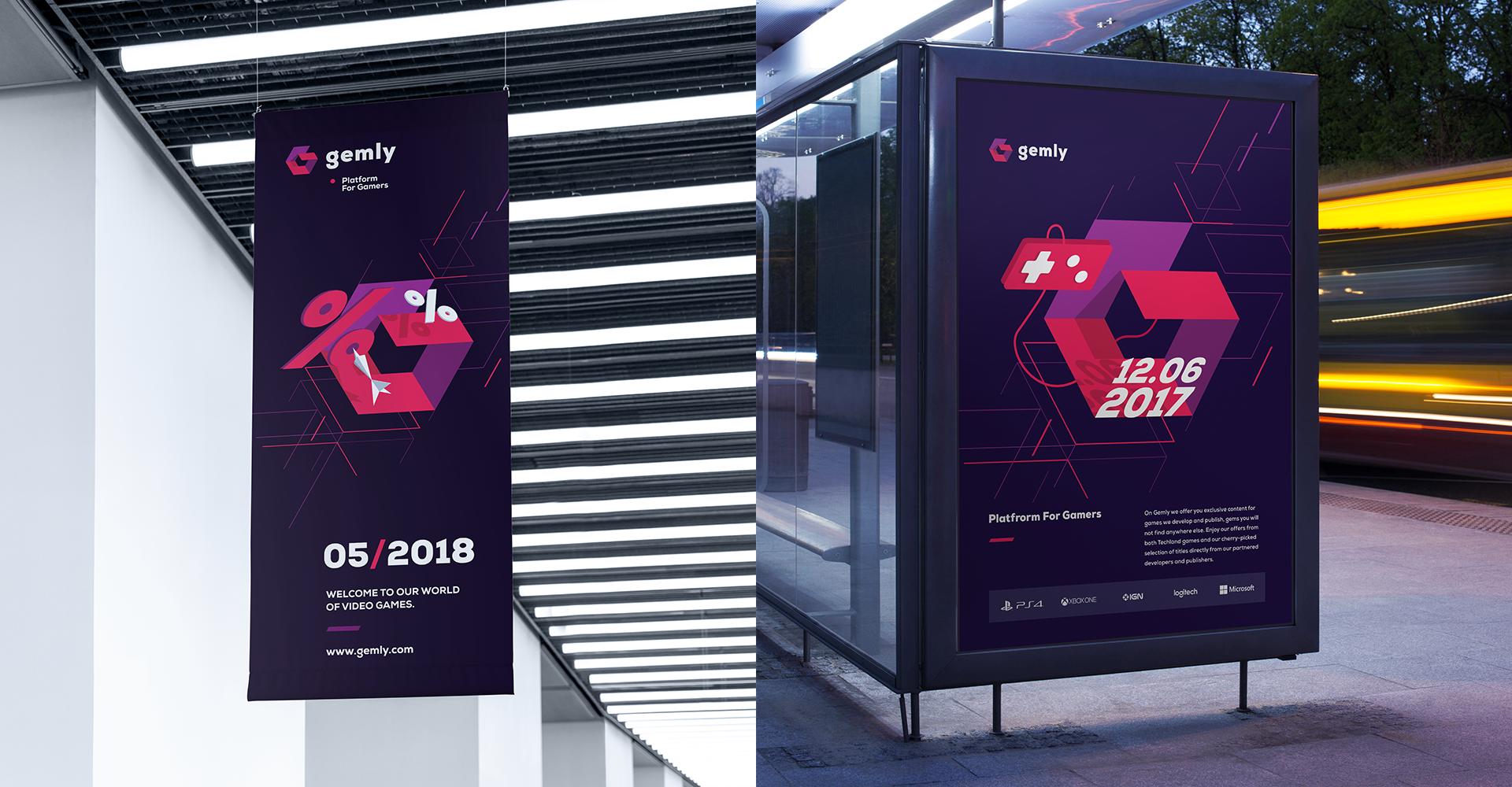 Gemly Techland's platform for gamers on Behance Gamer