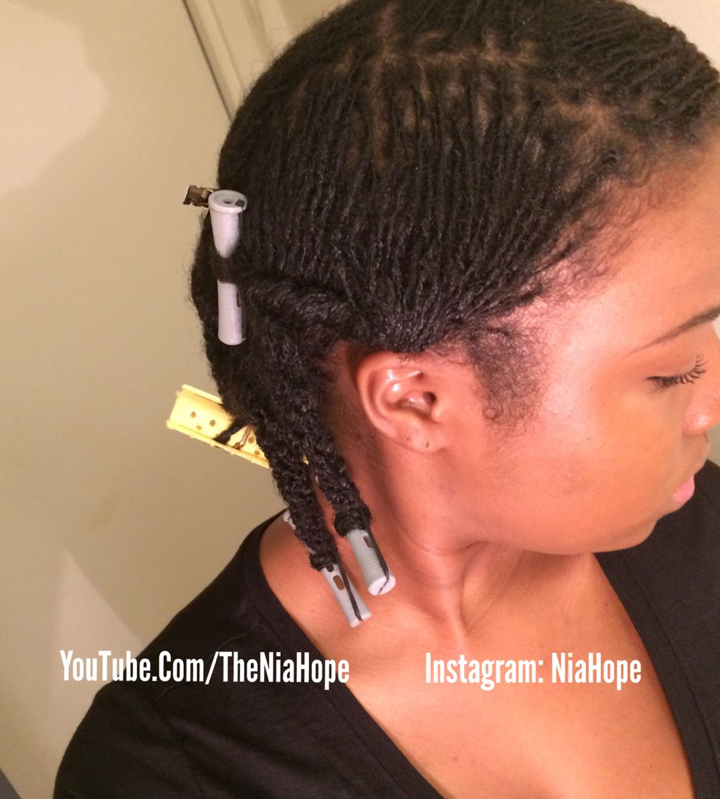 braidlocs at 5 months. retwisted with aloe vera gel. www.youtube