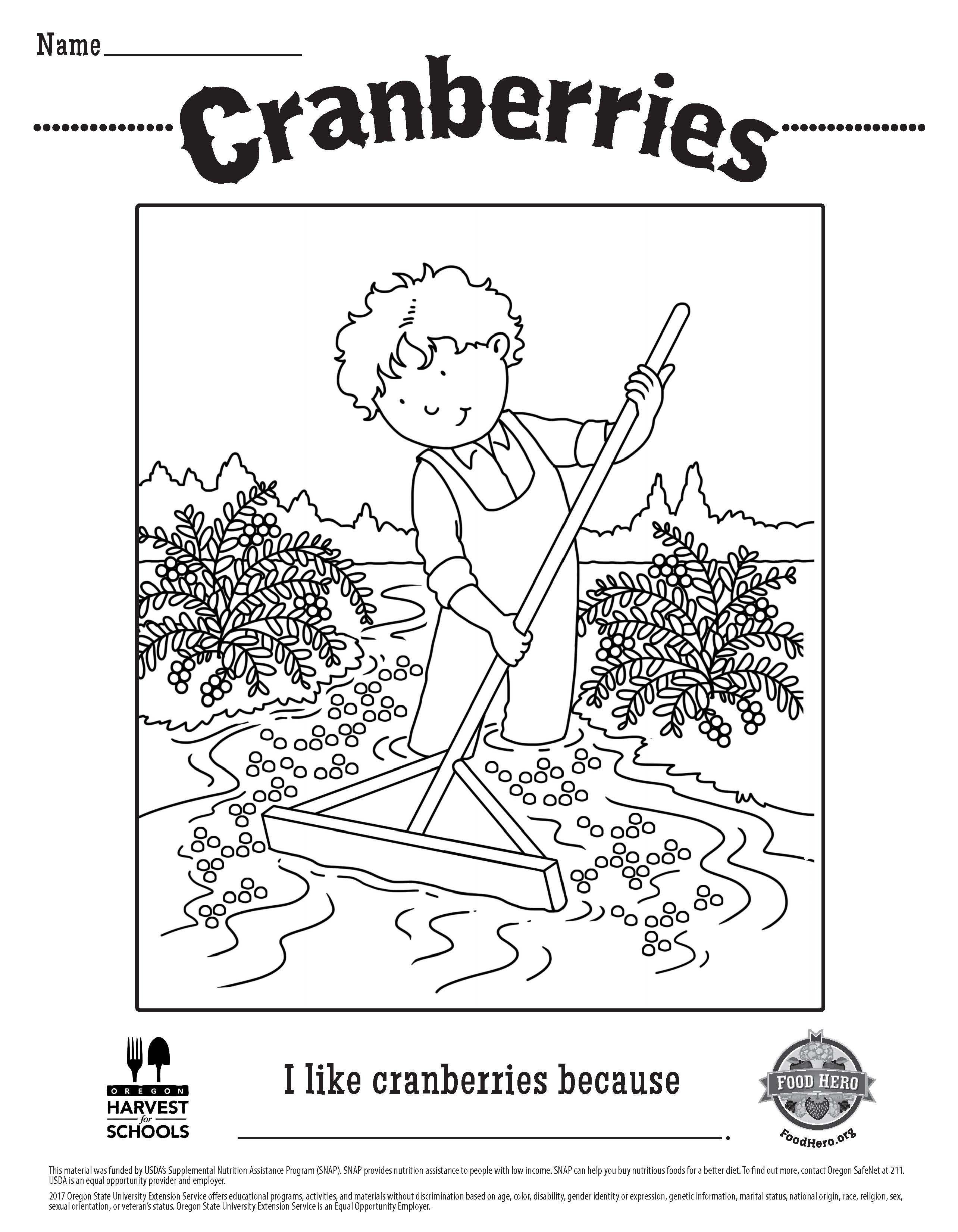 Food Hero Free Printable Children S Coloring Sheet