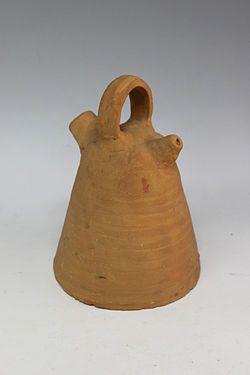 'Càntir de Pescador', anònim, Museu del Càntir d'Argentona. Joia del Museu 2012 de la Viquipèdia.