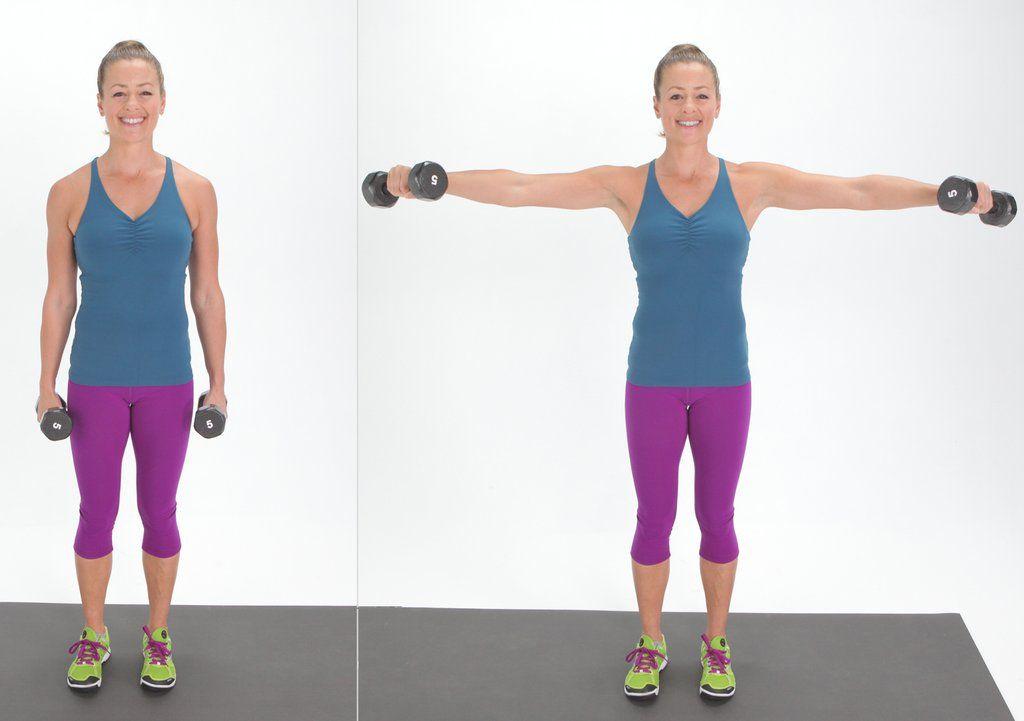 Lateral Arm Raises | Good arm workouts, Arm workout for ... Oblique Exercises Abe