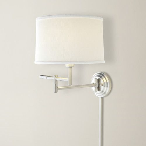 Found It At Wayfair Smithfield 1 Light Swing Arm Wall Sconce Sconces Wall Lamps Living Room Wall Sconces Bedroom