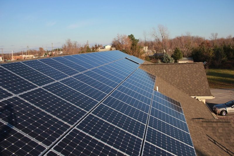 Cir Solar Install At Natale Office Building Clarence Ny With Images Solar Panels Solar Roof Solar Panel