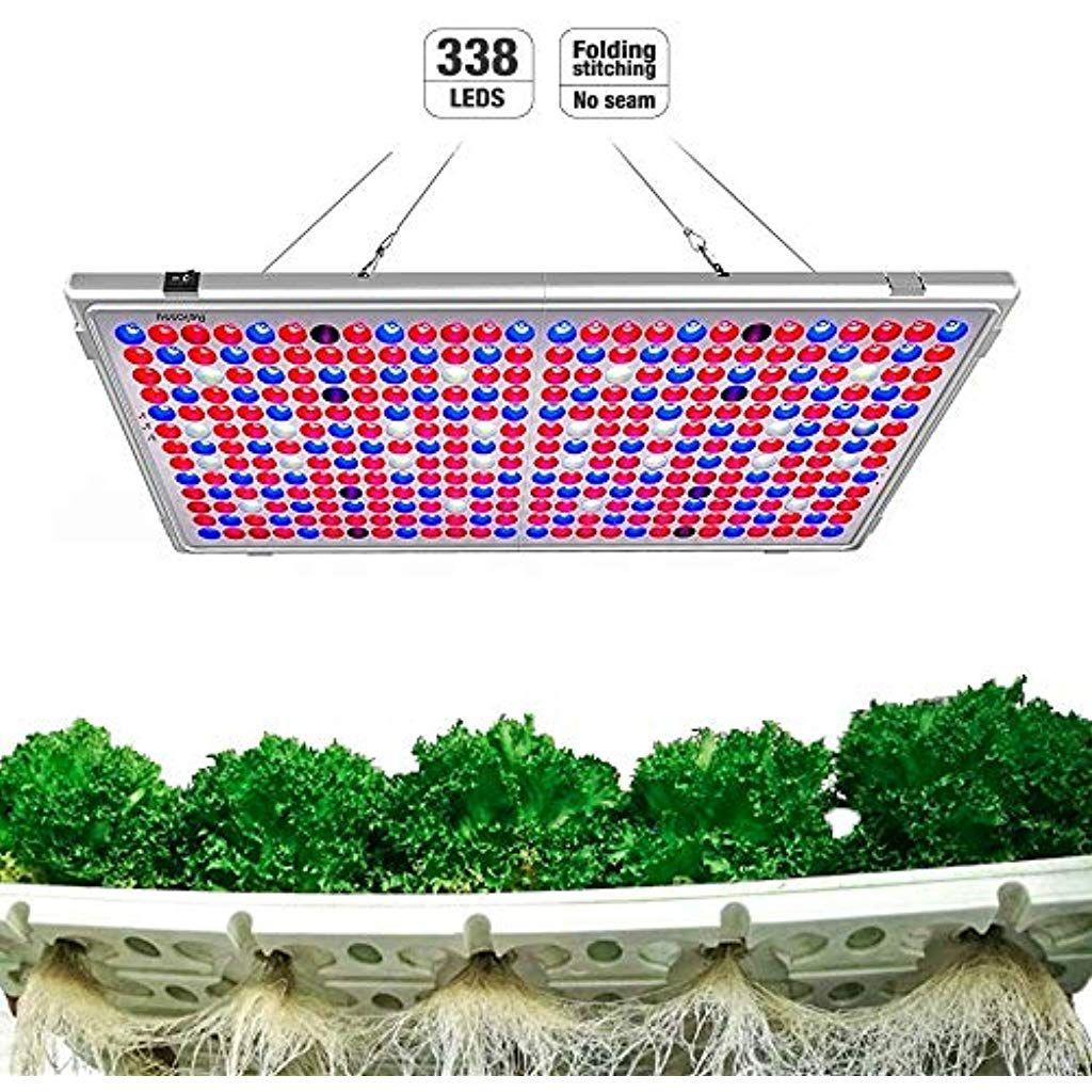 Relassy Lampe De Plante 300w Lampe Led Horticole Floraison Lampe