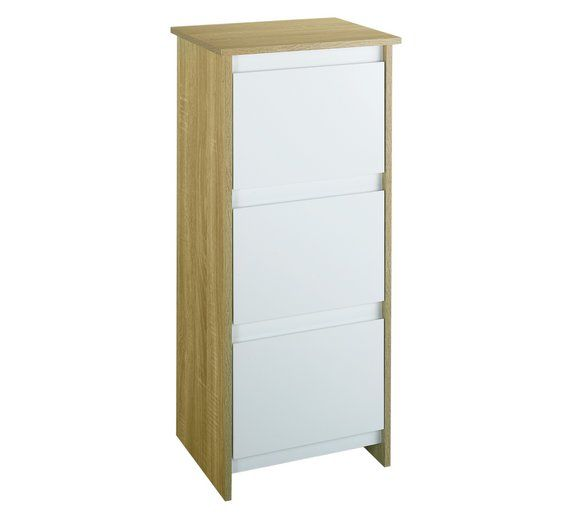 Buy Home Geneva 3 Drawer Floor Cabinet At Argos Co Uk Visit Argos