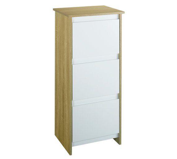 Buy Home Geneva 3 Drawer Floor Cabinet At Argos Co Uk Visit Argos Co Uk To Shop Online For Bathroom Shelves And St Bathroom Furniture Bathroom Shelves Storage