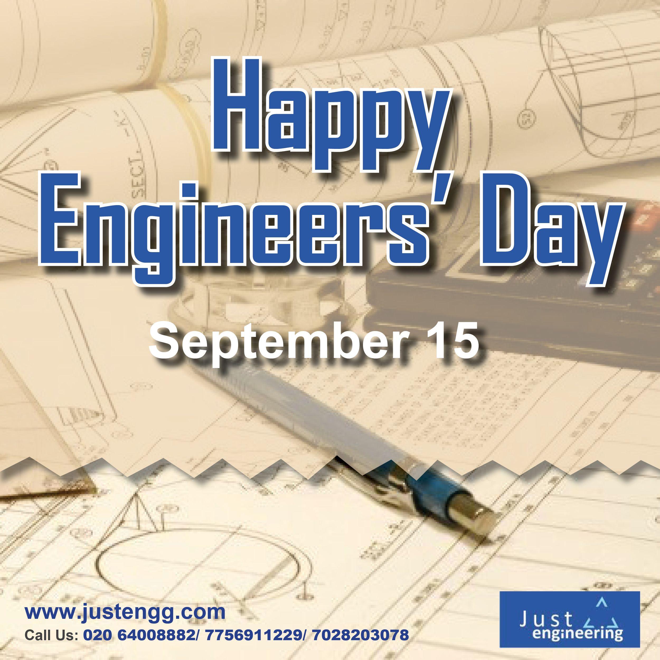 HappyEngineers' Day to all Engineers across the globe