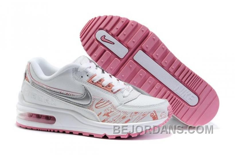 34f22f7f10370 Discover the Womens Nike Air Max Ltd White Pink Grey Online group at  Pumafenty. Shop Womens Nike Air Max Ltd White Pink Grey Online black