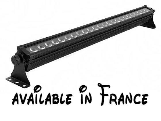 Involight LEDBAR395 Rampe Linéaire LED 24 x 3 W Aluminium Noir - cable electrique exterieur norme