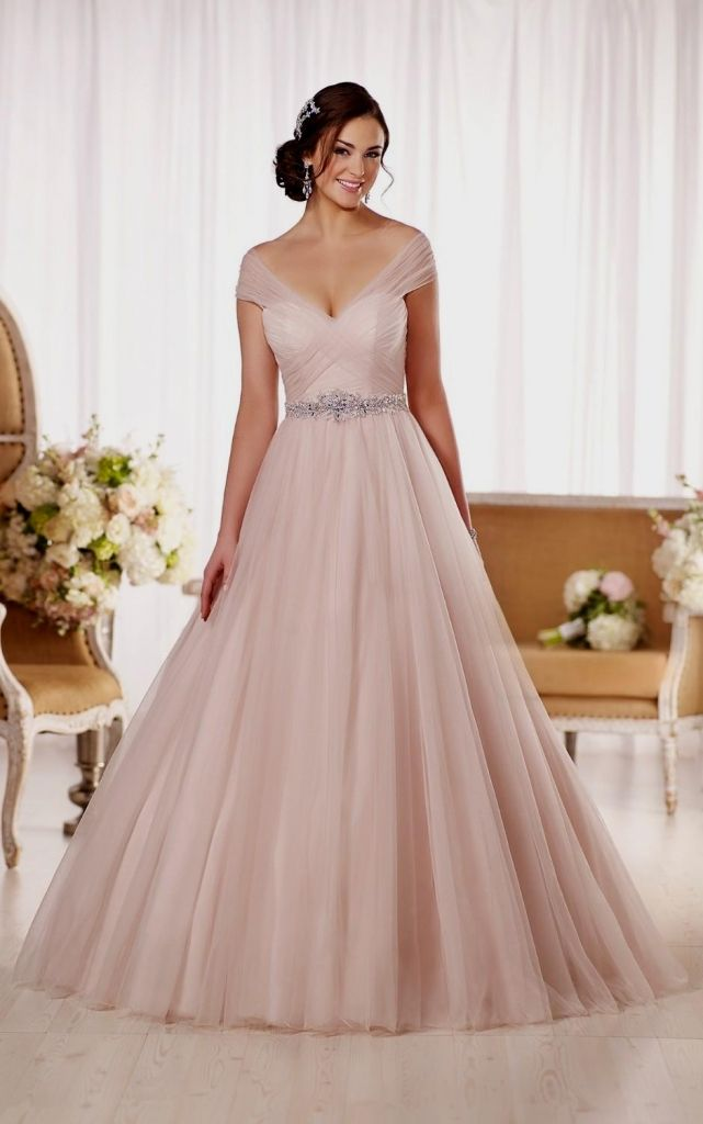 Champagne Pink Wedding Dresses | Wedding Gallery