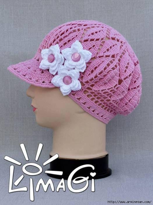patrones que hacen punto el sombrero | KEPURĖS | Pinterest ...