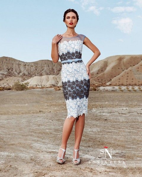 5cee00ed24dc Krátke dámske šaty Svadobný salón Valery
