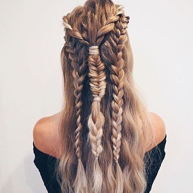 Boho braid hairstyle inspiration