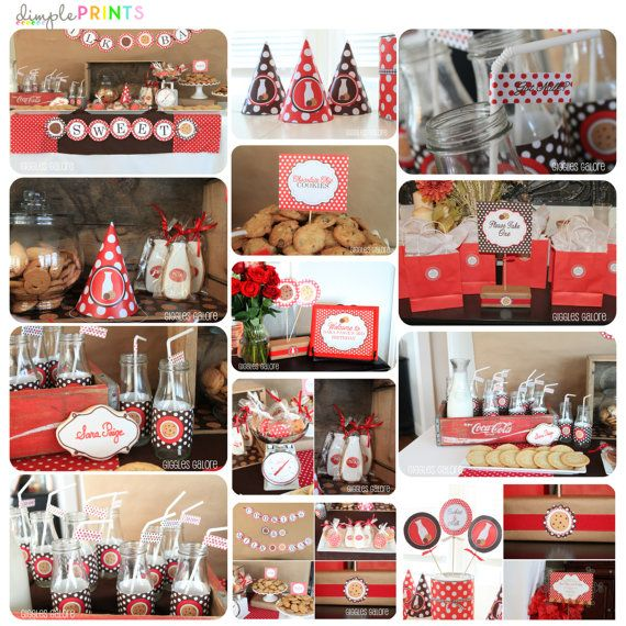 Milk and Cookies Party Parties Pinterest Birthdays, Party fun