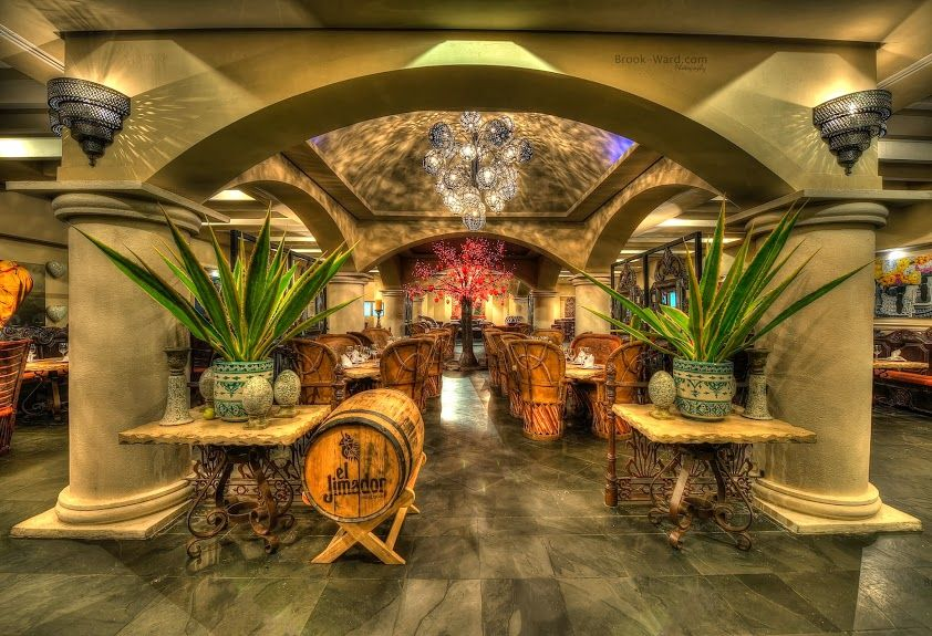 El Patio Restaurant This is the inside of the Mexican restaurant at ...