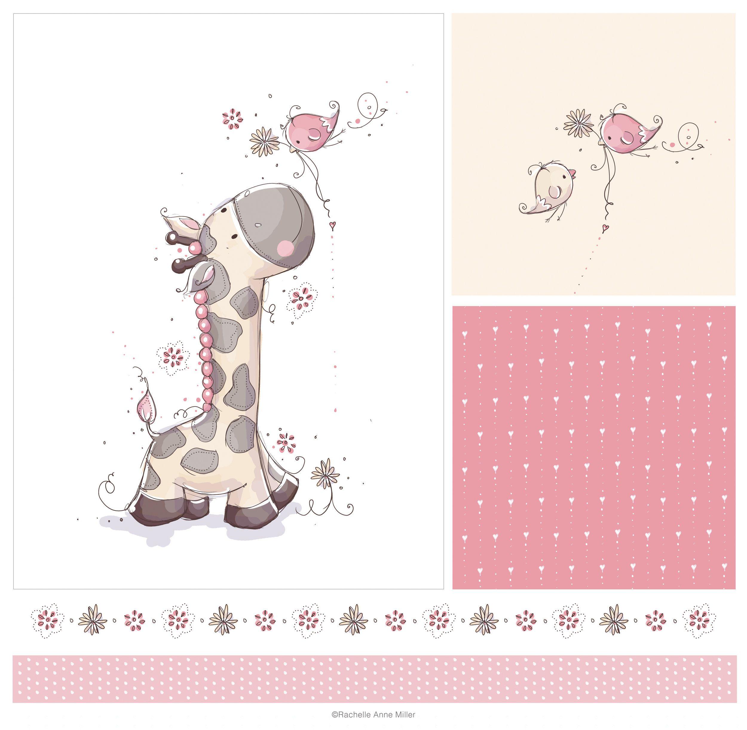 RAM_giraffe.jpg Baby clip art, Illustration art drawing