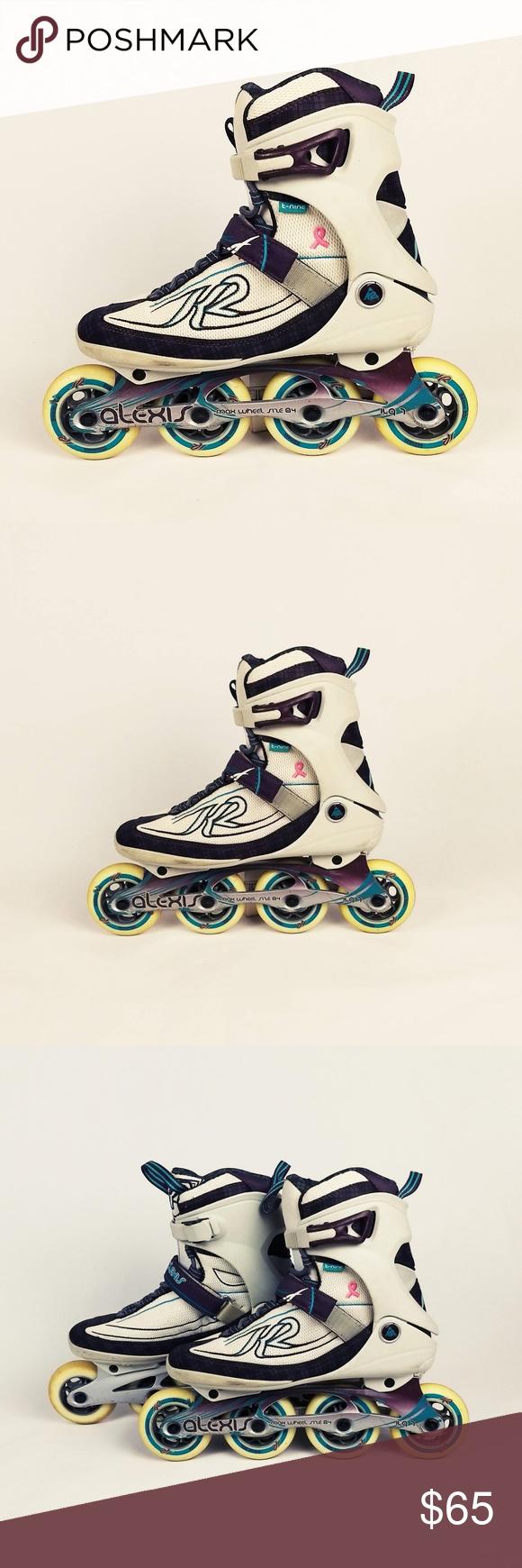 a5b10d4a858014 K2 Alexis 80 Pro Inline Skates 84mm Womens Size 9 K2 Alexis 80 Pro Inline  Skates