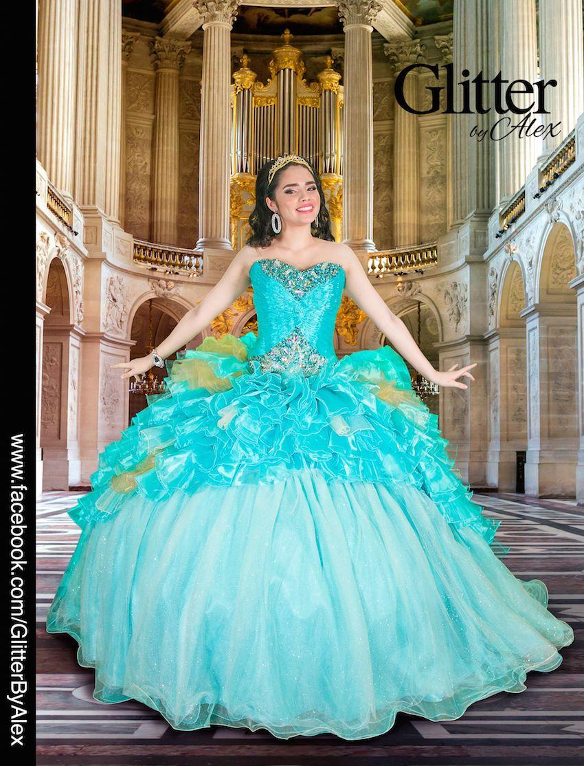 Glitter Alex Vestidos Quinceanera Dresses Beautiful Dresses