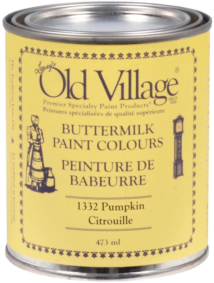 La Peinture de babeurre Old Village est une peinture intérieur