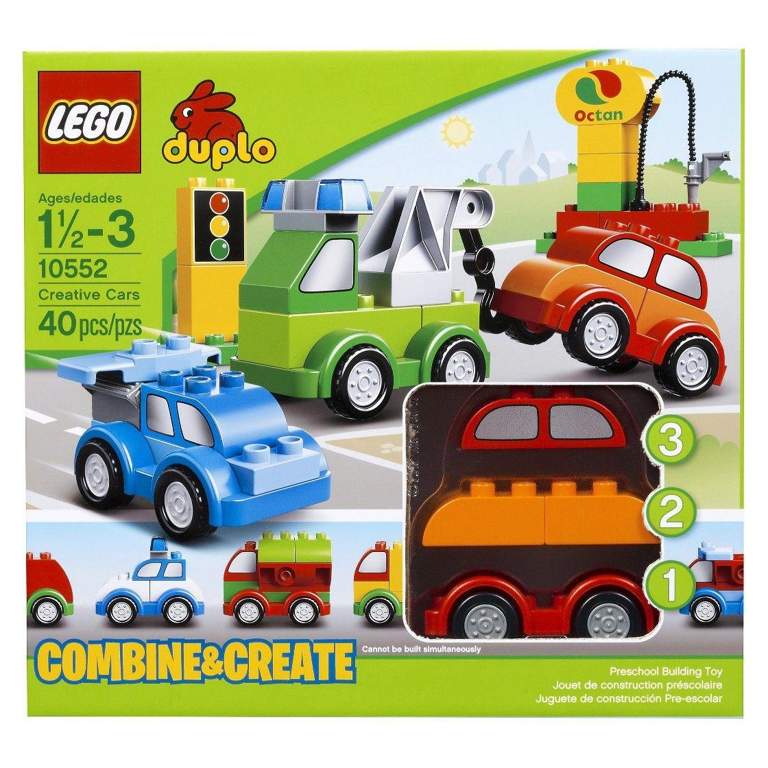 B toys cars  LEGO  DUPLO  Creative Cars   Kids Lego Duplo Sets