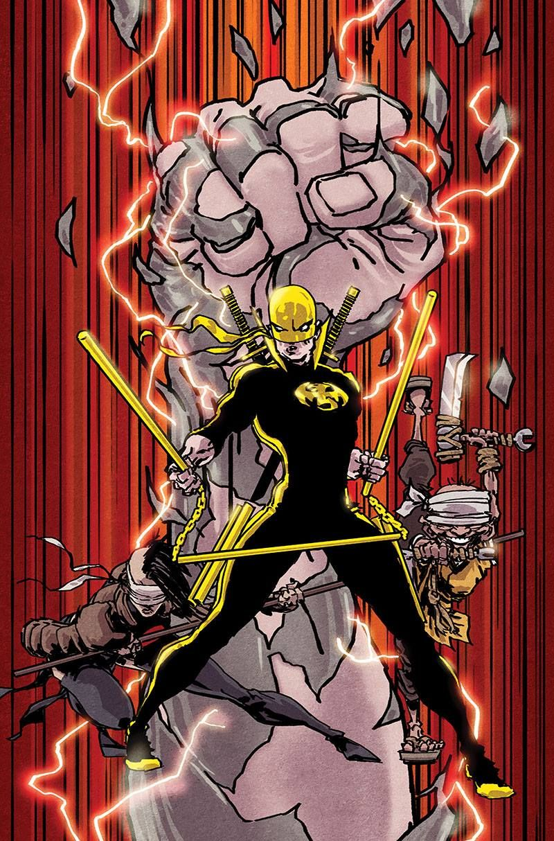 Iron Fist by Kaare Andrews *
