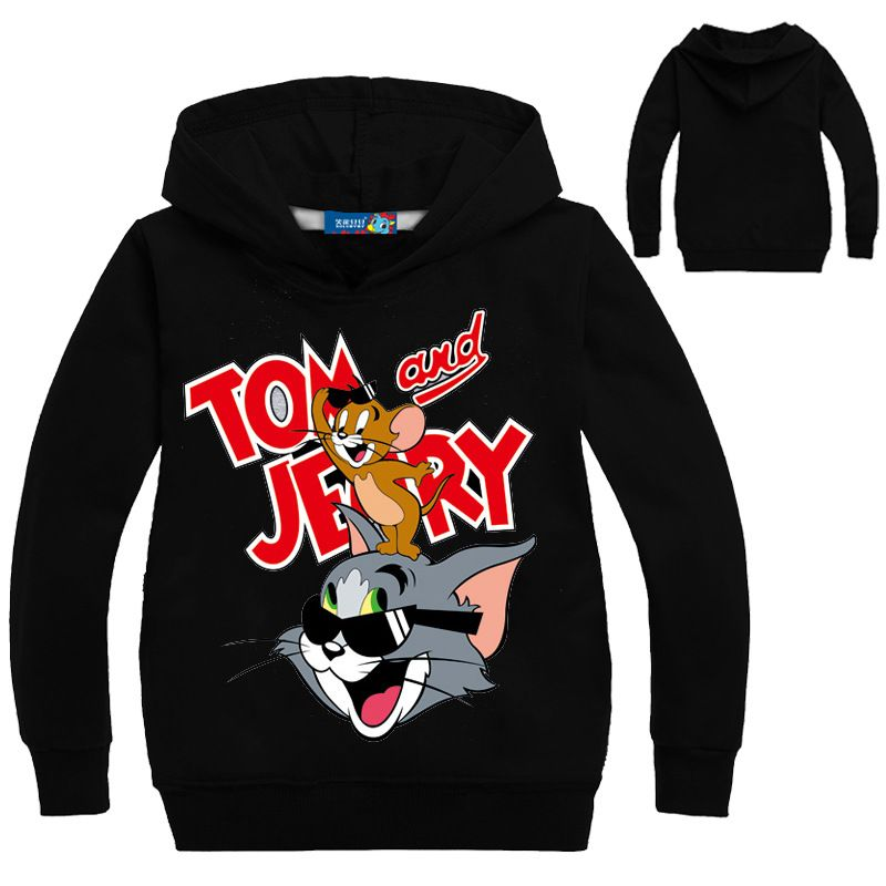 Tom and Jerry Girls Dont Even Sweatshirt