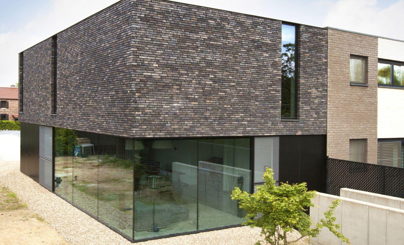 Woning martens de witte villa buiten gevels pinterest gevels huizen en gevel - Moderne huis gevel ...