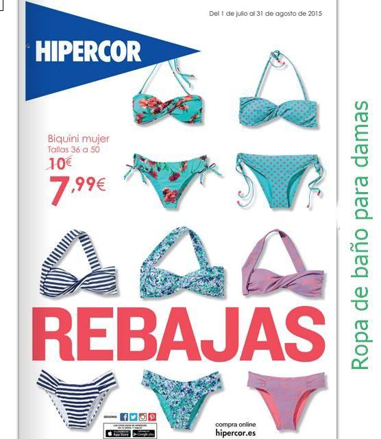 038a7e1fc203 Biquinis de mujer, verano 15 Hipercor | Trajes de Baño | Bikinis ...