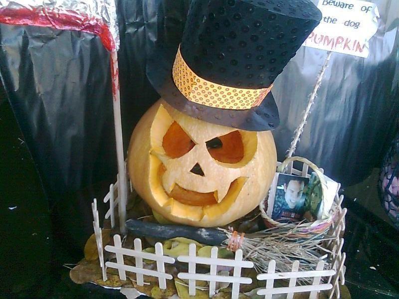 Calabaza Para Concurso De Halloween Pumpkin Carving Carving Pumpkin
