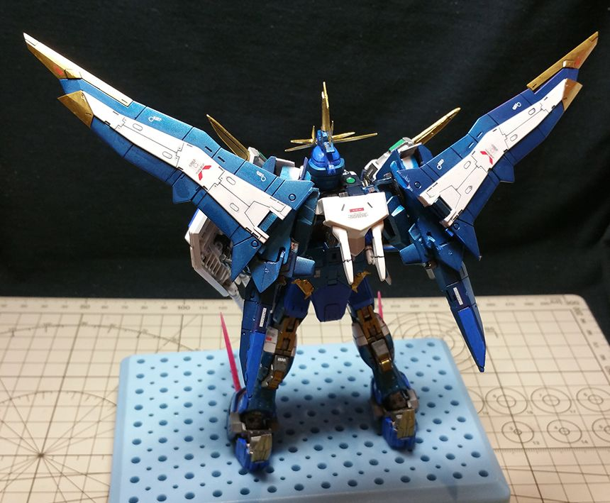 Pin By Ting T On Rg Infinite Justice Goldlion Custom Build Pinterest