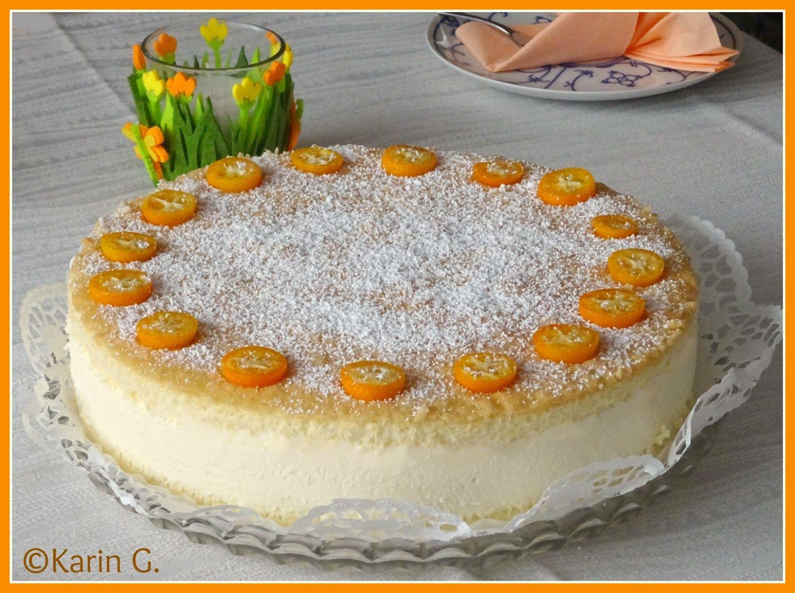 Kasesahnetorte Kasesahne Sahnetorte Kase Quark Torte Kasesahne