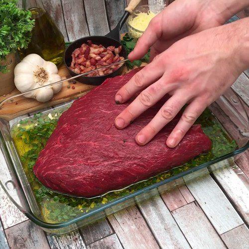 Recipe XXL Steak and other Chefclub recipes origin