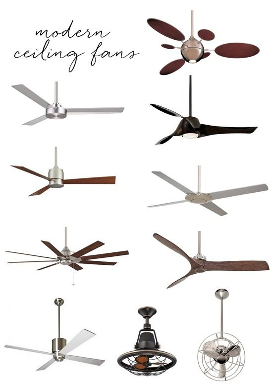 Captivating Modern Ceiling Fans