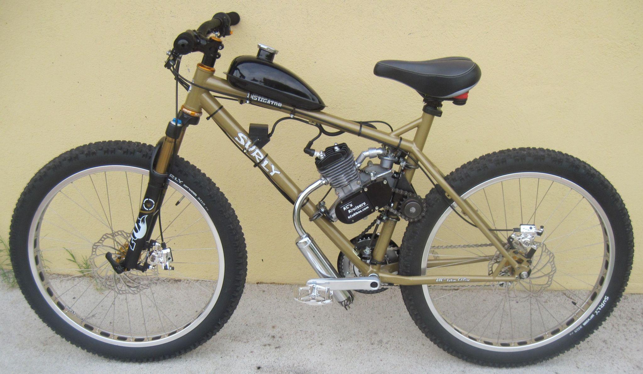 KC's Kruisers - Motorized Bike Forum - KC`s Surley Mule