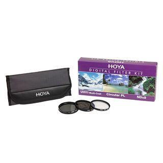 Hoya Digital Filter Kit 46mm (3 filters)