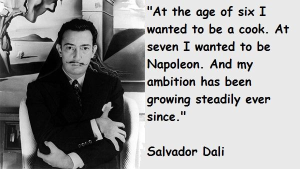 Salvador Dali Quotes Fascinating Salvador Dali Quotes  Crazy Genius Quotes  Pinterest  Salvador . Review
