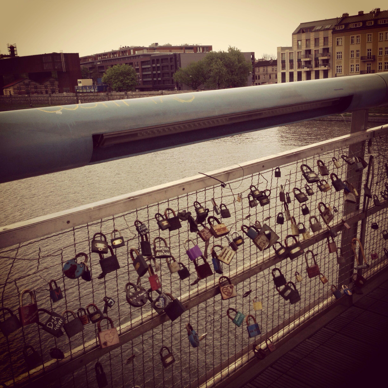 Bridge of love krakow
