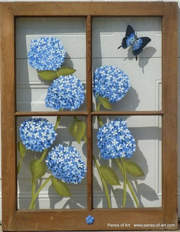 40 Glass Painting Ideas For Beginners: 40 Window Glass Painting Designs For Beginners