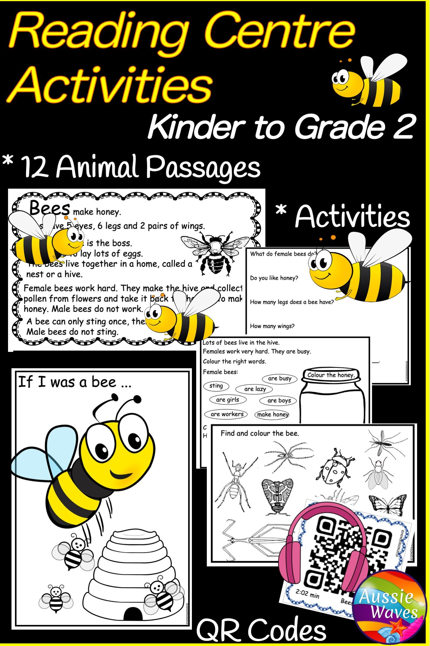 Reading Passages And Activities For Grades K 2