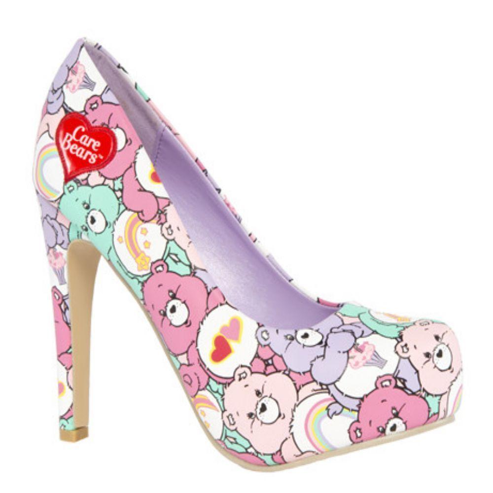 Platform Care Bear Shoes | Boot shoes